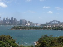 View of Sydney from Toranga Zoo
